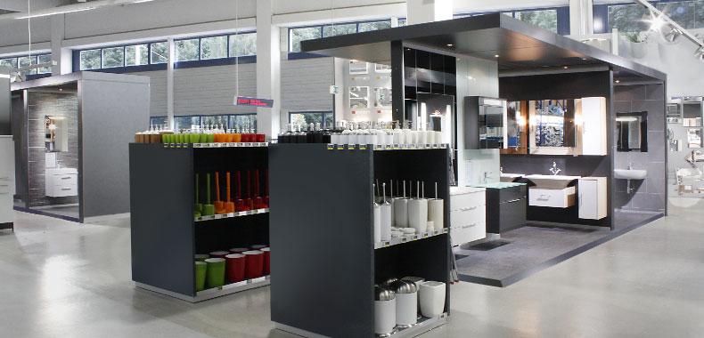 sanitärausstellung  Praktiker - Innenarchitektur, Grafikdesign, Frankfurt - liguori'gloger